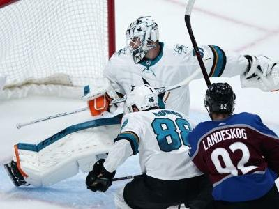 Landeskog scores OT winner, Avs force Game 7 with Sharks