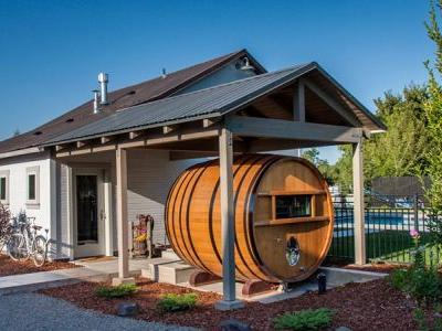 You Can Now Sleep in a Wine Barrel Next to Washington Wineries