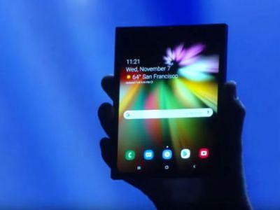 Samsung's Foldable Phone Could Launch In March 2019