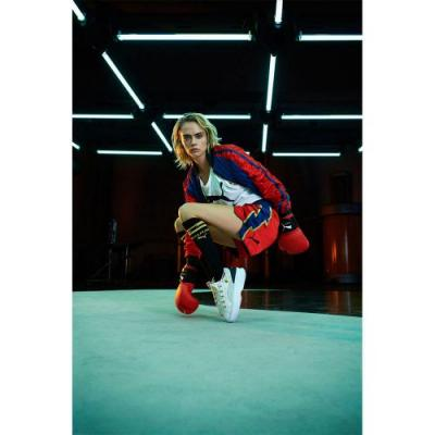 Balmain, Cara Delevingne and Puma Team Up On A Double Collab, Ready for the Boxing Ring