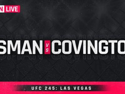 UFC 245 live results, updates and highlights from full card