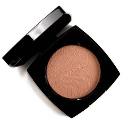 Chanel Warm Gold (20) Highlighting Powder Review, Photos, Swatches