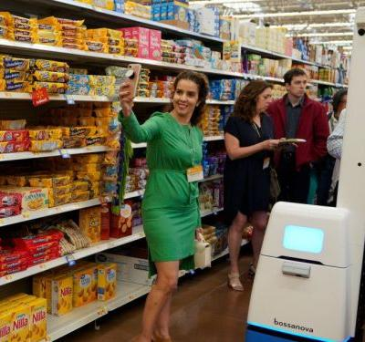 Walmart is building a home for grocery-shopping robots next to one of its stores - and it offers a glimpse into the company's automated future