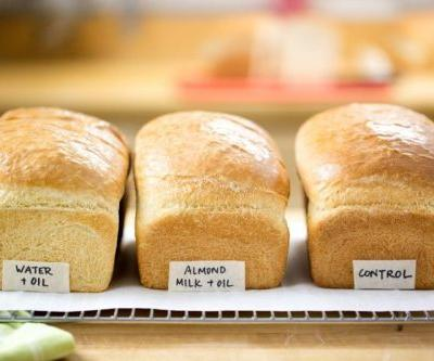 Dairy-free bread