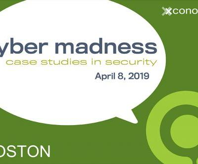 Rapid7, Raytheon, Recorded Future Join Cyber Madness in Boston on April 8