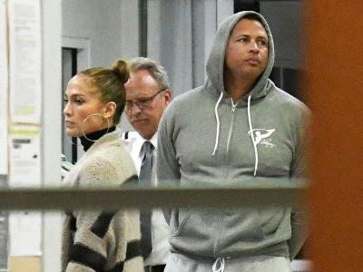 Jennifer Lopez and Alex Rodriguez Return to the States Following Their Eventful Bahamas Vacay