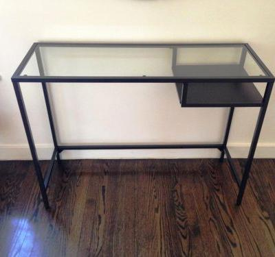 48 Inspirational Glass Console Table Ikea Pictures