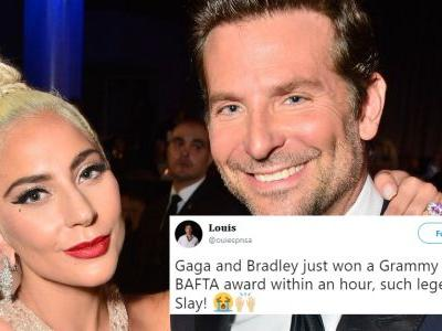 """These Tweets About Lady Gaga & Bradley Cooper's 2019 Grammy Win For """"Shallow"""" Are So Pure"""