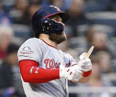 Even a broken bat couldn't stop Bryce Harper's torment of Mets