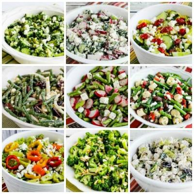 My Top Ten Low-Carb Salads with Feta Cheese