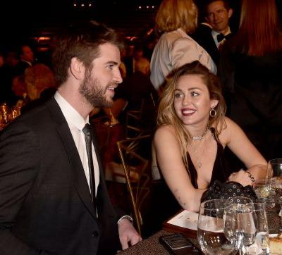 Miley Cyrus & Liam Hemsworth's First Event As Husband & Wife Was Unsurprisingly Adorable