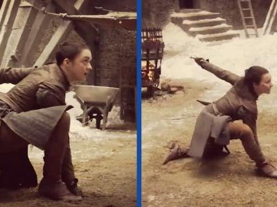 This 'Game of Thrones' secret turned Arya Stark into a badass