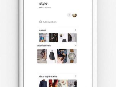 Pinterest iOS app now allows you to rearrange pins, reorder sections, archive boards