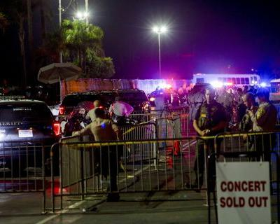 Man shot after pulling gun outside Ice Cube concert, sheriff says