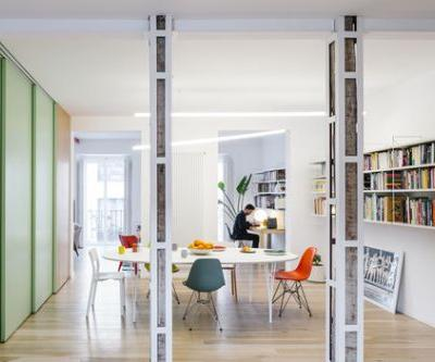 Apartment for a Bachelor in Madrid / gon architects + Ana Torres