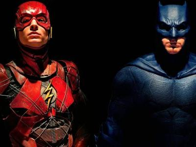 Batman Gives The Flash Advice in Justice League Preview