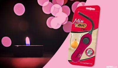 Bic made a special pink lighter to help women light candles while men set fire to barbecues