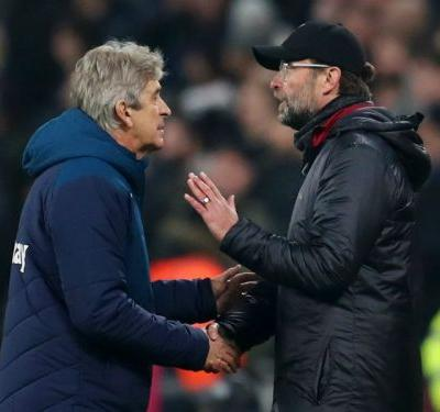 Klopp is used to winning with offside goals - Pellegrini