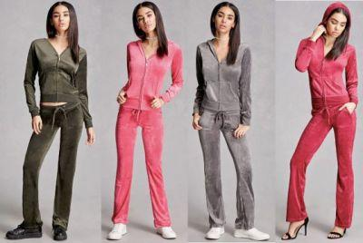 The Return of Velour Track Suits: Are You Down?
