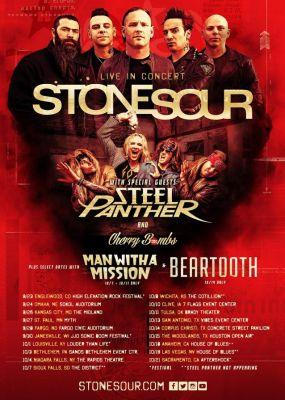 STONE SOUR Announces Fall 2017 U.S. Tour With STEEL PANTHER