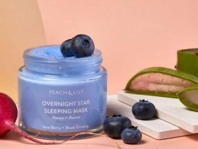 Peach & Lily's New Overnight Sleeping Mask Made My Skin Feel Like Silk