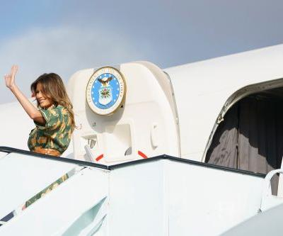 Melania Trump wraps up solo Africa trip in Egypt