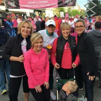 Savannah Plastic Surgery in the Race for the Cure!