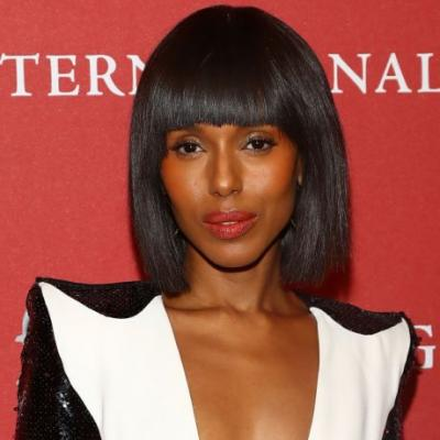 Kerry Washington Chopped Her Hair into a Razor-Sharp Bob with Bangs