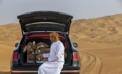Check out the super-luxe SUV Bentley created specifically for falconry