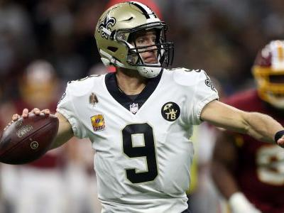 By the numbers: Drew Brees sets NFL's all-time passing yards record