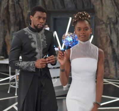 A guy in a Black Panther costume proposed to his girlfriend during a screening for the movie - and the internet is in love