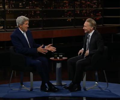 "John Kerry Tells Bill Maher That Donald Trump Is as Insecure as a ""Teenage Girl"""