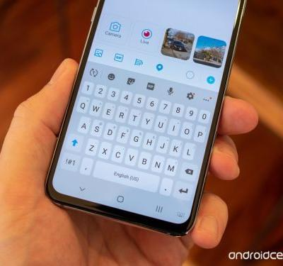 What keyboard are you using on the Galaxy S10?