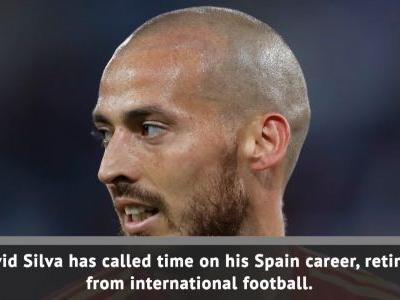 David Silva retires from international football
