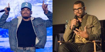 Chance the Rapper and Jordan Peele Talk Kanye, Get Out , Chappelle for Teen Vogue