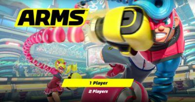 Arms has Switch players fighting with their actual fists