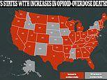 Coronavirus pandemic has driven a spike in drug overdose deaths in more than 40 US states
