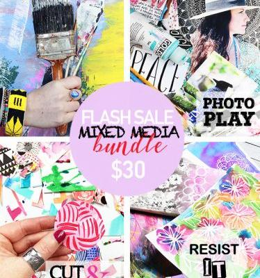 24 hour FLASH SALE! mixed media bundle