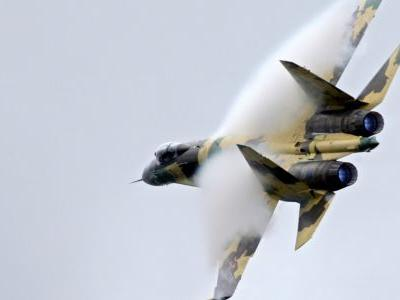 A Russian fighter jet buzzed a US aircraft by flying an 'inverted maneuver' just 25 feet in front of it