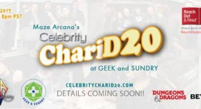 Join Satine Phoenix & Watch Celebrities Play D&D for Charity on Celebrity ChariD20!
