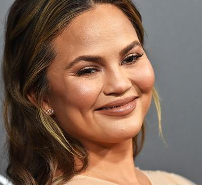 ICYMI, Chrissy Teigen Just Made It Cool to Rock a Grey Streak