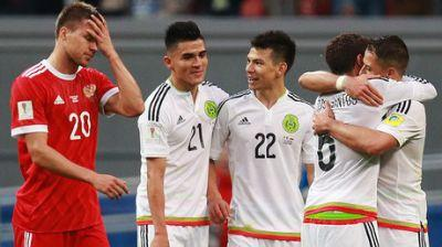 Mexico 2-1 Russia: Hosts crash out of Confed Cup in Kazan
