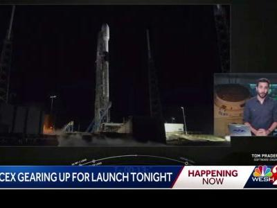 SpaceX gears up for launch