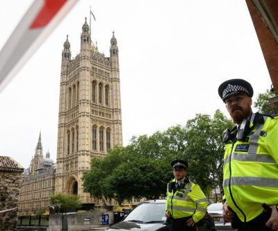 Crash outside UK Parliament treated as terror attack