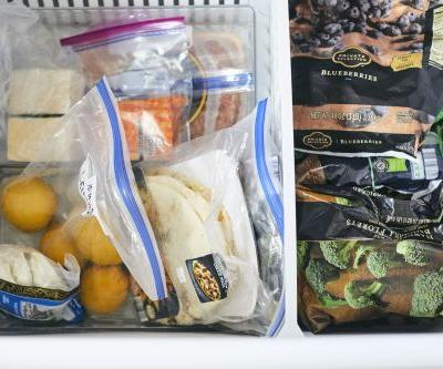 How I Organized My Entire Freezer with a Single Trip to the Dollar Store