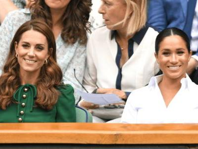 Meghan Markle Wore a Thing: Pleated Hugo Boss Skirt Edition