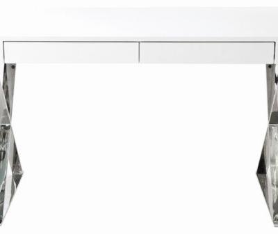 20 Luxury Modern White Desk with Drawers Images