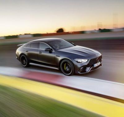 Mercedes just revealed a new AMG GT to take on Porsche's most powerful sedan