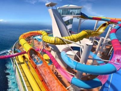 The World's Longest Waterslide at Sea Launches This Year