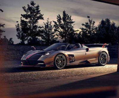 Pagani Huayra BC Roadster Revealed With 800 HP and $3.4 Million Price Tag